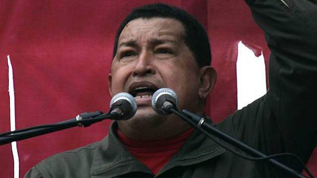 Perus Präsident Hugo Chavez (Archiv)