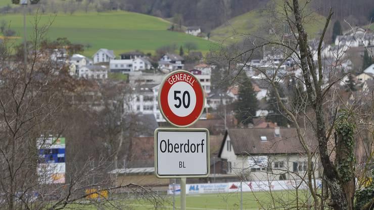 Die Gemeinde Oberdorf im Waldenburgertal.