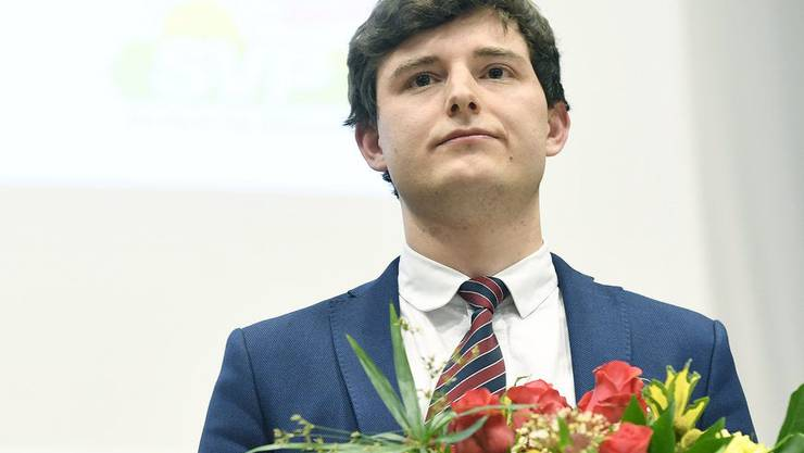 Schwieriges Amt: Benjamin Fischer nach seiner Wahl zum neuen Präsidenten der SVP Zürich.