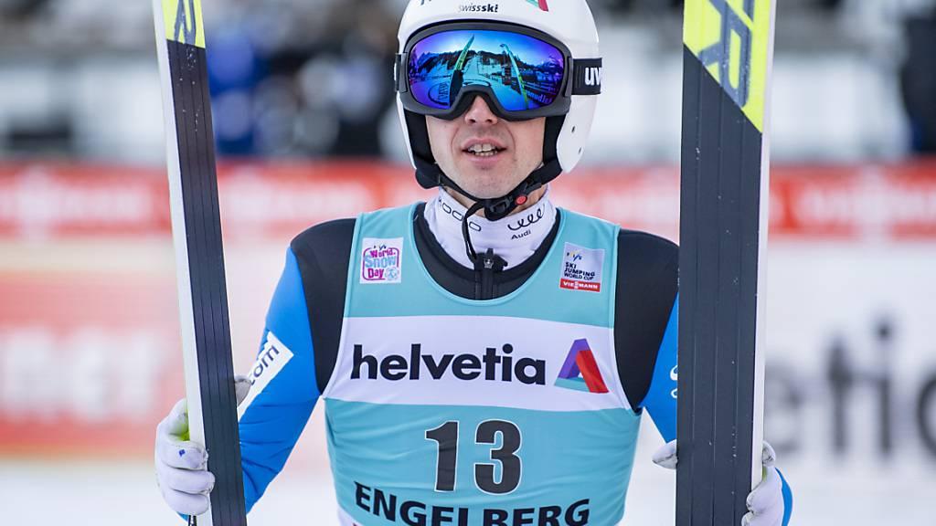 Simon Ammann bei Vierschanzentournee dabei