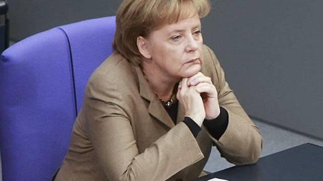 Die deutsche Kanzlerin Angela Merkel (Archiv)