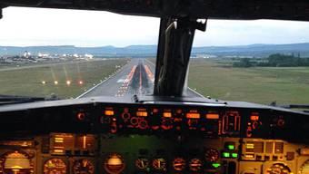 Instagram-Fotos von Piloten beim Anflug auf den Basler Euro-Airport