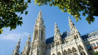 Die Lancierung der Initiative «Europäische Demokratie-Hauptstadt» fand wegen dem Coronavirus nicht im Wiener Rathaus statt, sondern digital,