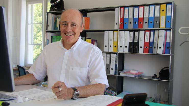 Urs F. Meyer, Leiter Rechts- und Personaldienst der Stadt Solothurn.