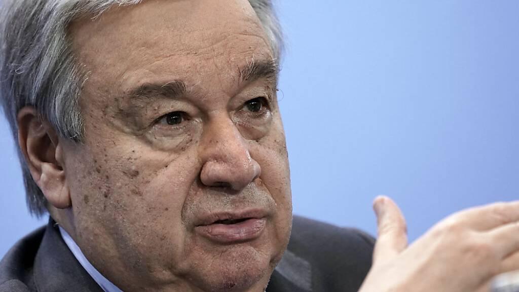 UN-Generalsekretär geht «realistisch» in neue Zypern-Gespräche