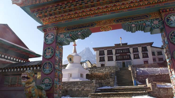 Hier soll Ueli Stecks Leichnam rituell beigesetzt werden: das Tengboche-Kloster in Nepal.