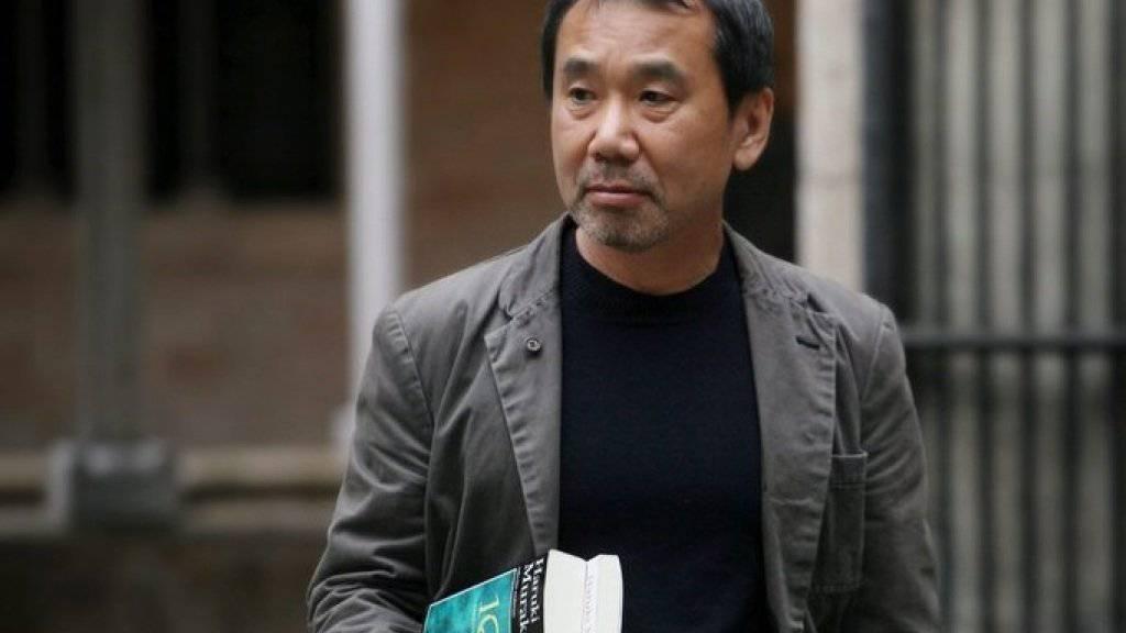 """Seine Geschichten verfügen über """"globale Perspektive und Erzählfreude"""": Der japanische Autor Haruki Murakami wird mit dem dänischen Andersen-Preis geehrt (Archiv)."""