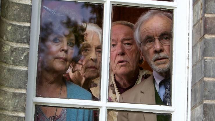 Dustin Hoffman hinter der Kamera, mit Schweizern als Mitproduzenten: «Quartet», ein Film um in die Jahre gekommene Opernsänger. HO