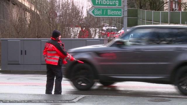 Fahrzeugkontrolle in Ostring