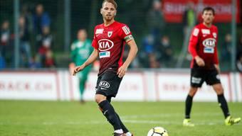 Olivier Jäckle bleibt beim FC Aarau und will wieder zu alter Stärke zurückfinden.