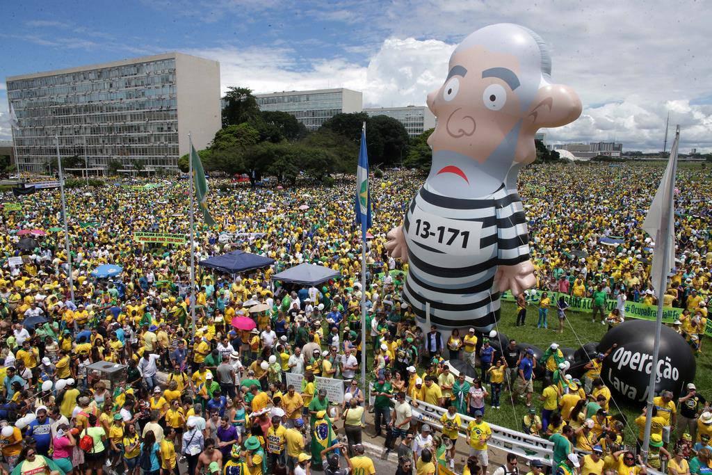 Der Massenprotest in Bildern (© Keystone)