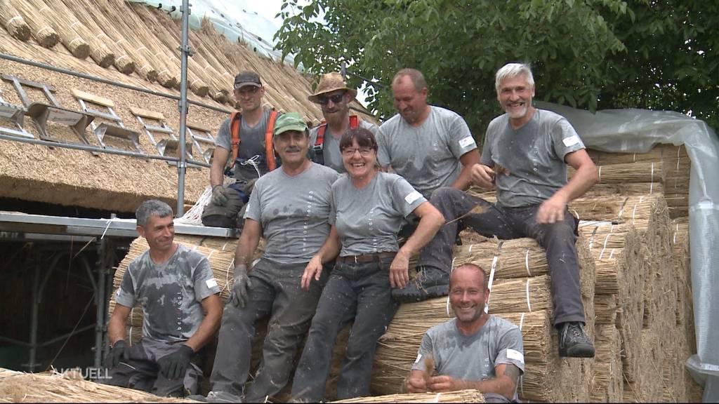 Strohdach-Sanierung Kölliken: Bekanntes Dorfmuseum erhält neue Überdachung