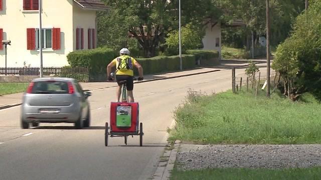 Auf dem Hochrad durch die Schweiz