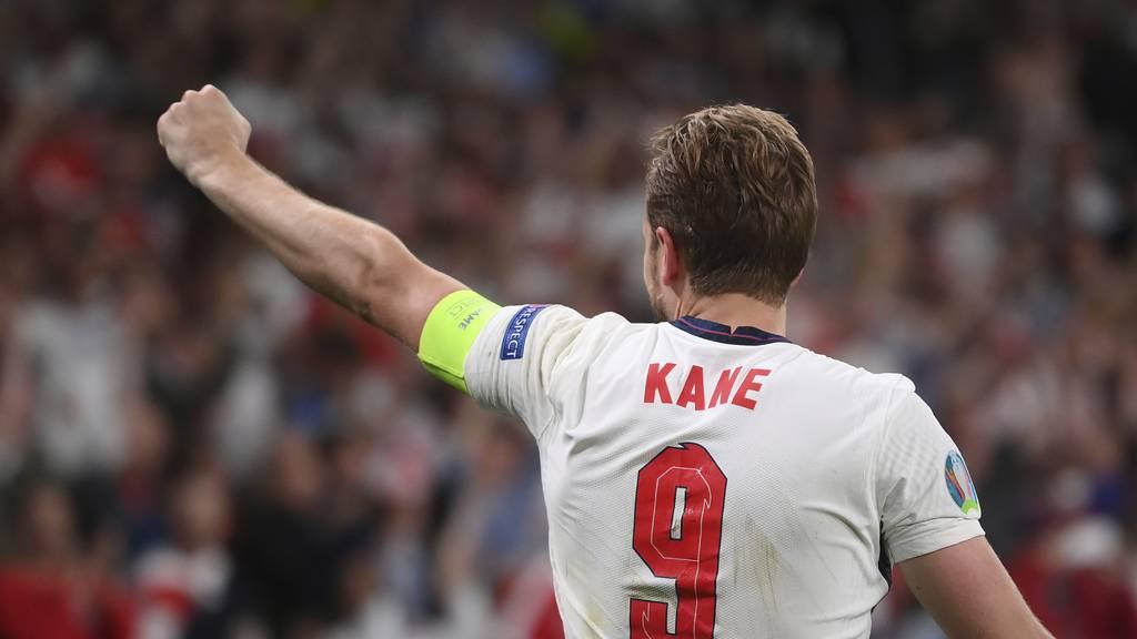 England schiesst sich in der Verlängerung durch Penalty in den EM-Final