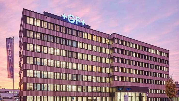 Auch am Hauptsitz in Schaffhausen wird Kurzarbeit eingeführt.