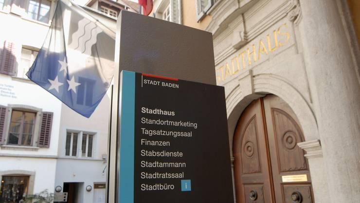 Zehn Kandidaten wollen einziehen: Stadthaus in Baden.