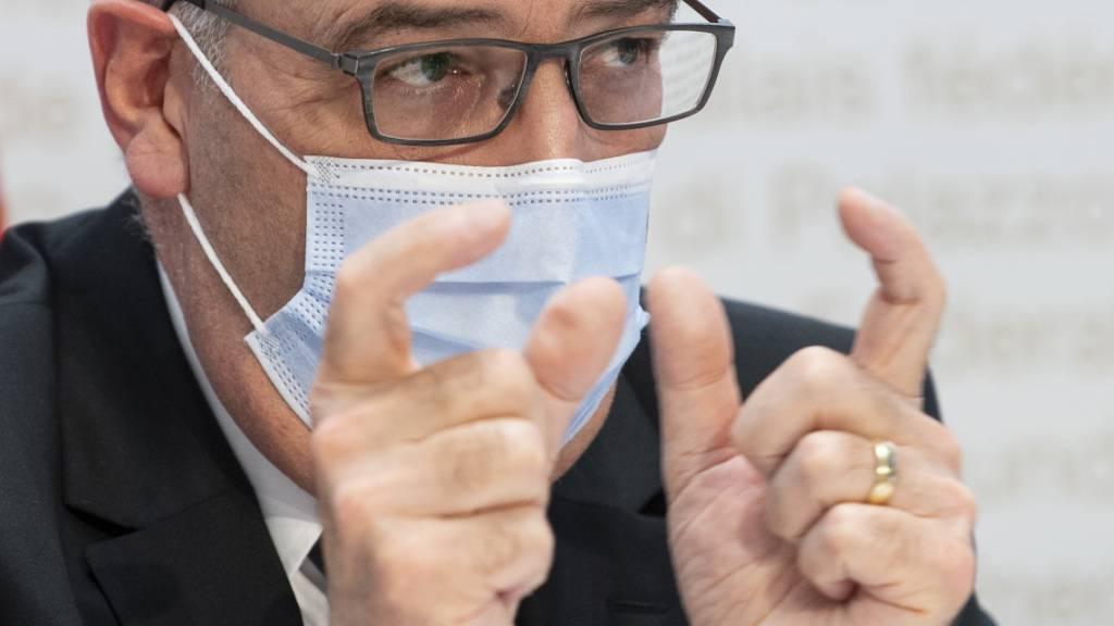 Bundespräsident Guy Parmelin ruft nach dem Nein zur Trinkwasser- und zur Pestizidinitiative die gegnerischen Lager zum Dialog auf. (Archivbild)