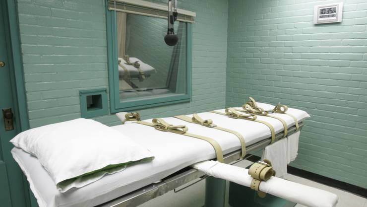 Todesstrafe: In den USA ist am Donnerstag erneut ein verurteilter Straftäter hingerichtet worden. (Archivbild)