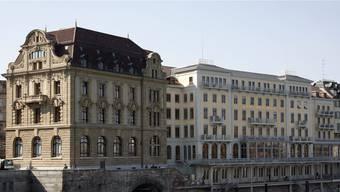 Beim Grandhotel Les Trois Rois wurde ein Kapitalschnitt nötig.