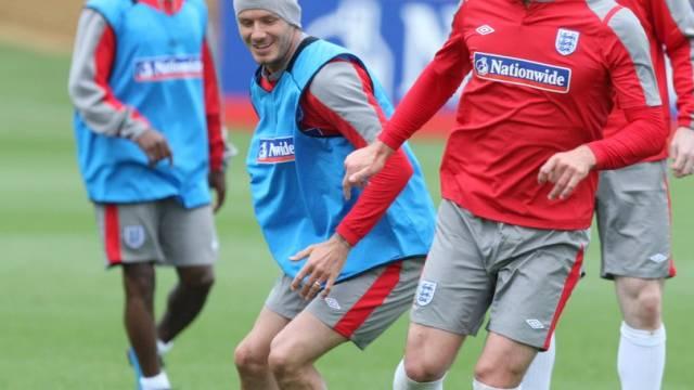 Auf dem Weg nach Südafrika: Beckham, Terry und Co.