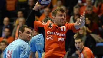Leszek Starczan war mit 7 Treffern erfolgreihster Kadetten-Schütze.