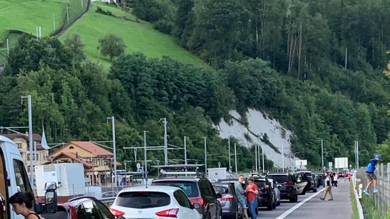Ärger über Slalom vor dem Loppertunnel