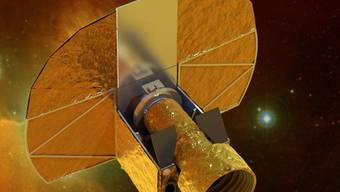 """Der """"CHEOPS""""-Satellit (Bild: Swiss Space Center/EPFL)"""