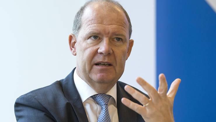 Arbeitgeber-Präsident Valentin Vogt (Archiv)