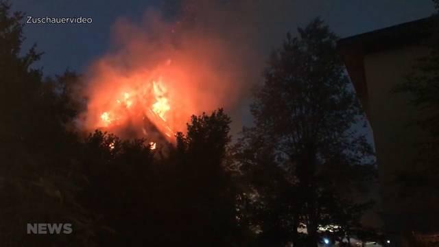 Hausbrand in Herzogenbuchsee: Polizei sucht Zeugen