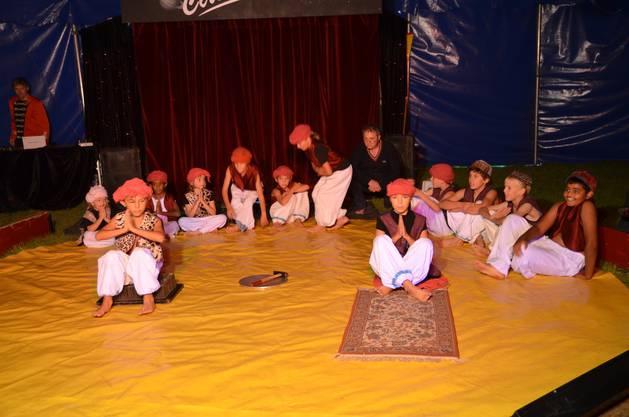 Zirkus mit den Schülerinnen und schülern