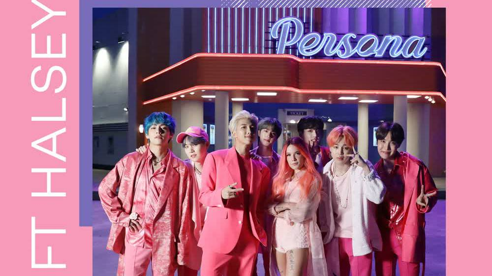 BTS; HALSEY - BOY WITH LUV