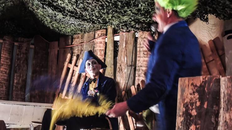 Im Amt: der neue Zunftmeister Paddi de Ghörnti Zeusler. Brigitte Santmann Rubin