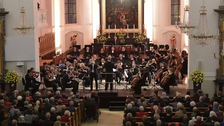 Eröffnungskonzert Internationale Musikwoche Grenchen mit dem London Concert Symphony Orchestra...