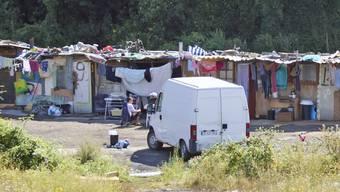 Roma-Siedlung in Frankreich (Archiv)