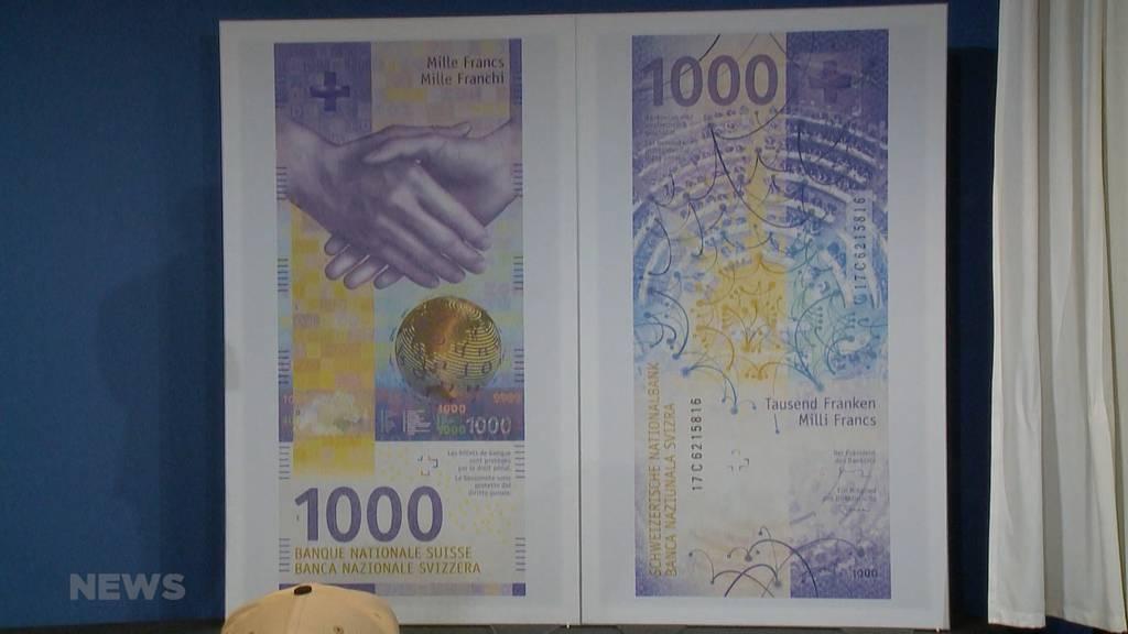 So sieht die neue 1000er-Note aus
