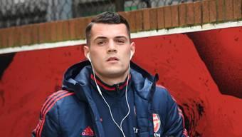 Granit Xhaka darf wieder aufs Trainingsgelände von Arsenal