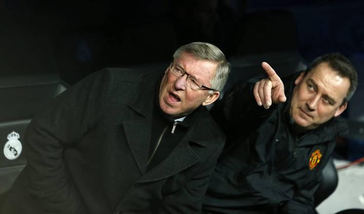 Manchester-Coach Sir Alex Ferguson