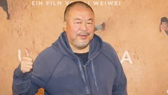 Wird für seinen Mut belohnt: Der chinesische Künstler Ai Weiwei bekommt einen Bambi für sein humanitäres Engagement. (Archivbild)