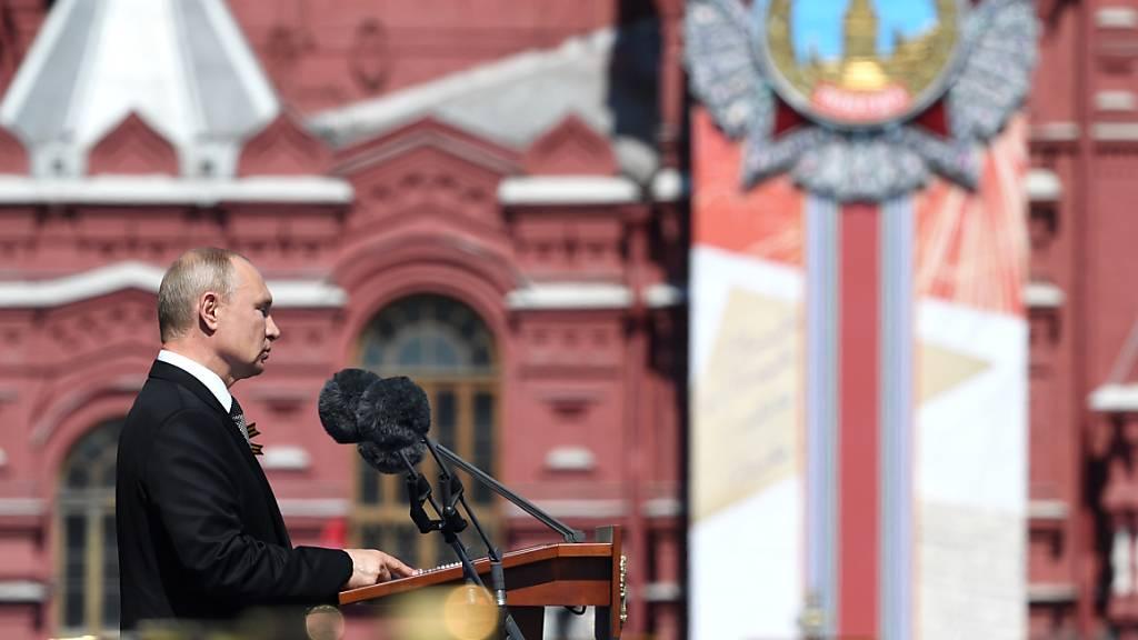 Putin rühmt Verdienste der Sowjetarmee bei Befreiung Europas