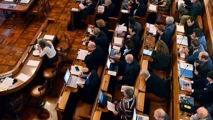Geschlossenheit ist im Kantonsrat Trumpf: Bei den verschiedenen Parteien betrug die Einstimmigkeit beim Abstimmen zwischen 97,5 und 99,7 Prozent.