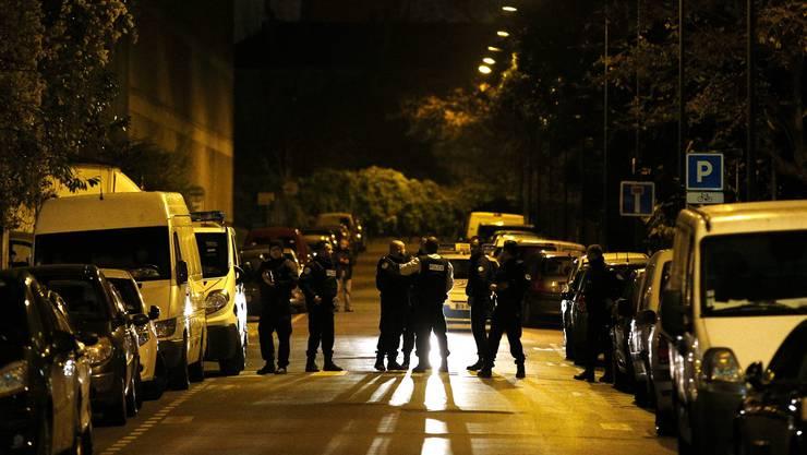 Grosser Polizeieinsatz in der Nacht auf Mittwoch im Pariser Vorort Saint-Denis