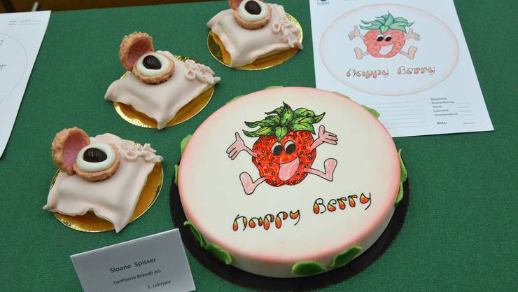 2. Lehrjahr Thema Tutti Frutti