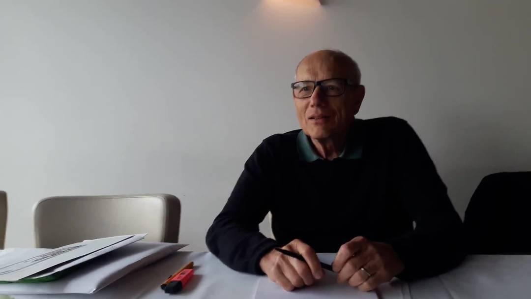 Kurz-Interview mit Peter Züllig von der Chronikgruppe  Baden-Rütihof