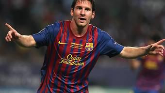 Lionel Messi traf zum 1:0 für Barça