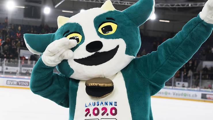 """Maskottchen """"Yodli"""" wird die olympischen Jugendspiele begleiten"""