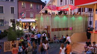 Impressionen vom Stadtfest Brugg 2019.