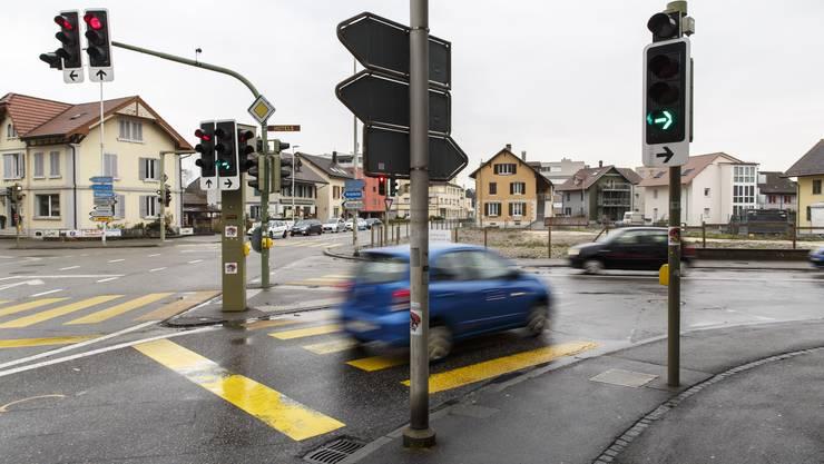 Der Kreuzplatz in Derendingen wird saniert und umgebaut.