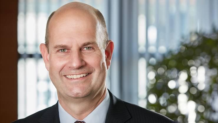 Dieter Widmer ist seit dem 12. Juni 2018 Direktionspräsident der Aargauischen Kantonalbank (AKB).