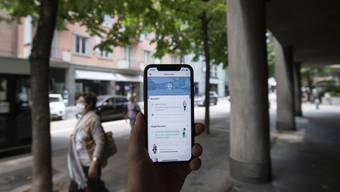 Swisscom wollte Werbung für die BAG-App machen – und sorgte damit für Aufregung.