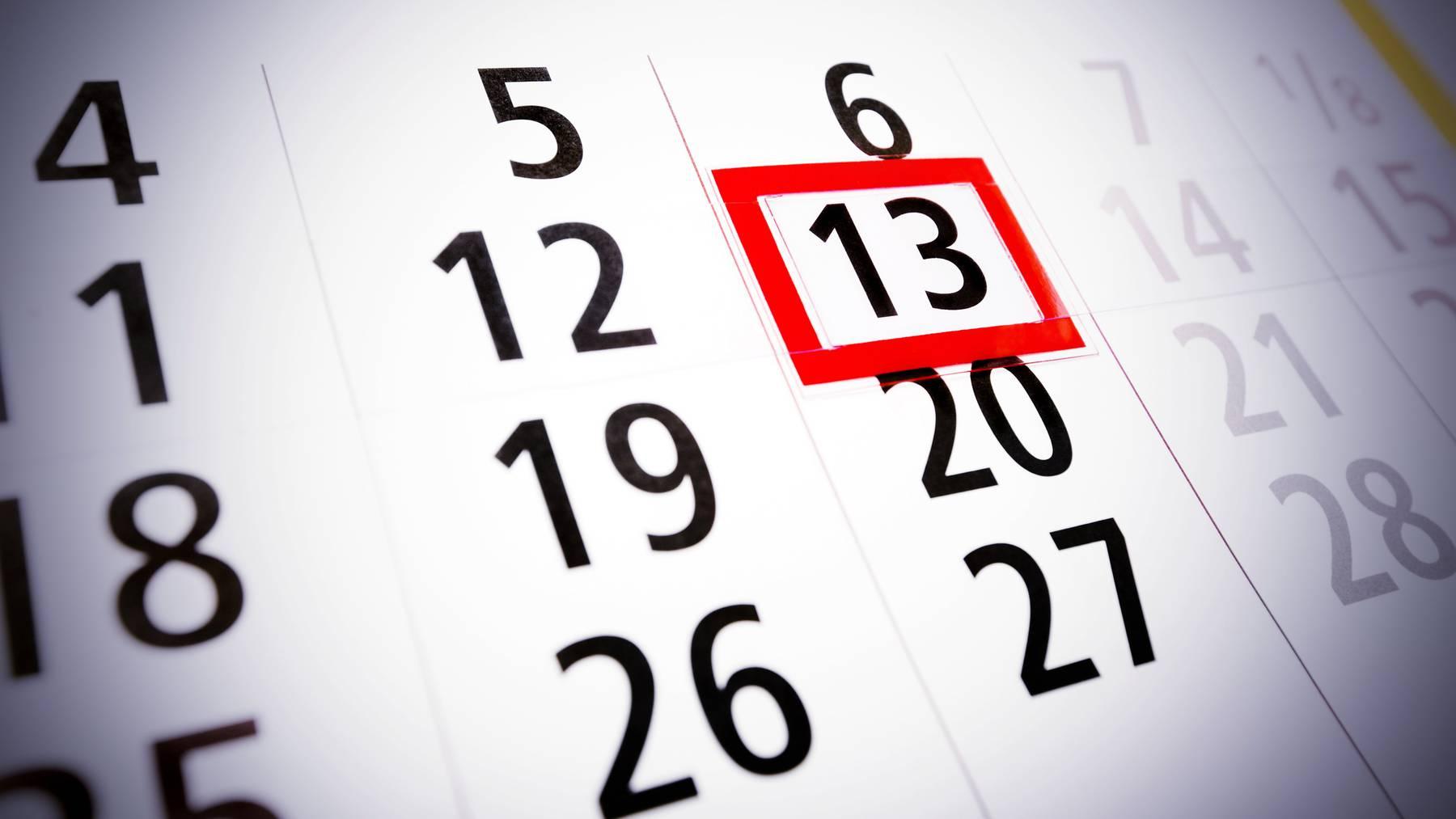 Heute ist Freitag, der 13.